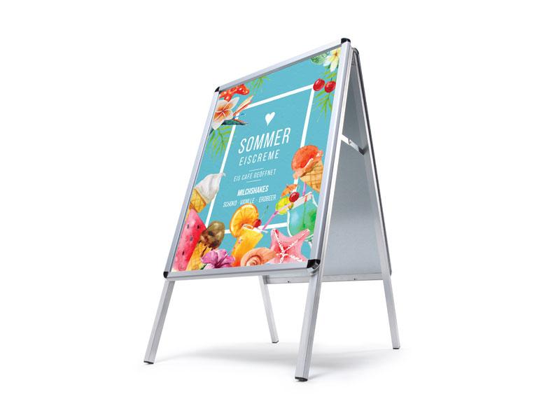 A-Board Standard, Größe A2